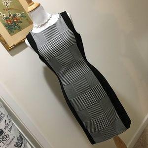 Fabulous Houndstooth Power Career Dress